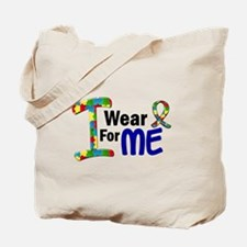 I Wear Puzzle Ribbon 21 (ME) Tote Bag