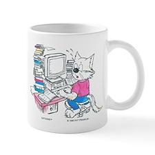 Catoons™ Computer Cat Mug