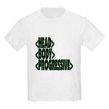 < HEAD BODY PROGRESSIVE > Kids T-Shirt