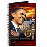 Barack obama Journals & Spiral Notebooks