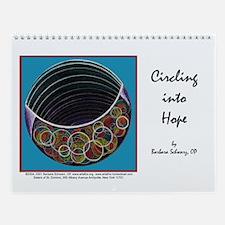 Circling into Hope Wall Calendar