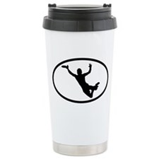Disc Ceramic Travel Mug