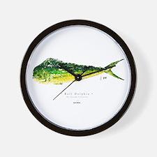 Dolphin / Mahi Wall Clock