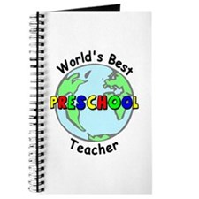 Best Preschool Teacher Journal