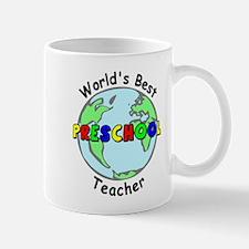 Best Preschool Teacher Mug