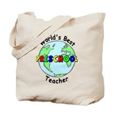 Best Preschool Teacher Tote Bag