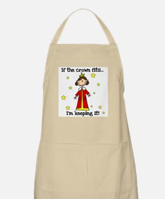 If the Crown Fits BBQ Apron
