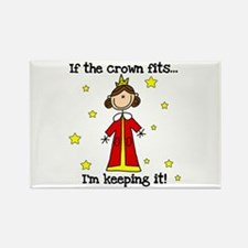 If the Crown Fits Rectangle Magnet