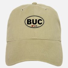 Buckroe Beach VA - Oval Design Baseball Baseball Cap