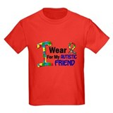 Best friend puzzle shirt Kids T-shirts (Dark)