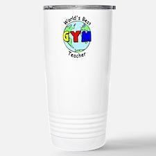 World's Best Gym Teacher Travel Mug