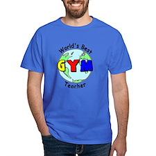World's Best Gym Teacher T-Shirt
