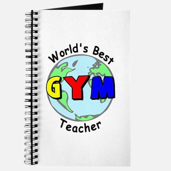 World's Best Gym Teacher Journal