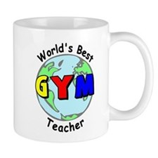 World's Best Gym Teacher Mug