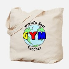 World's Best Gym Teacher Tote Bag