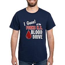 Forks Blood Drive T-Shirt