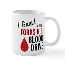 Forks Blood Drive Mug