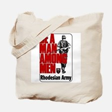 Rhodesian Army Poster Tote Bag