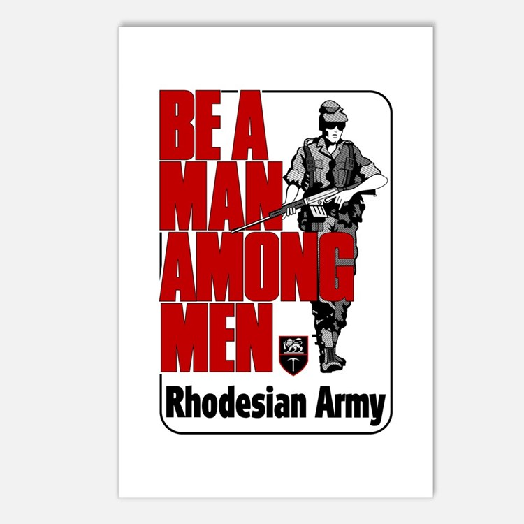 Rhodesian Army Poster Postcards (Package of 8)