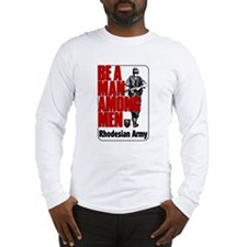 Rhodesian Army Poster Long Sleeve T-Shirt