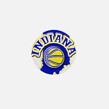 Indiana Basketball Mini Button