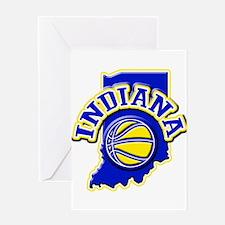 Indiana Basketball Greeting Card