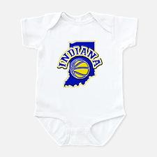 Indiana Basketball Infant Bodysuit