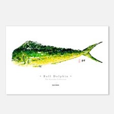 """Bull Dolphin"" Postcards (Package of 8)"