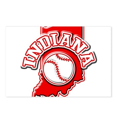 Indiana Baseball Postcards (Package of 8)