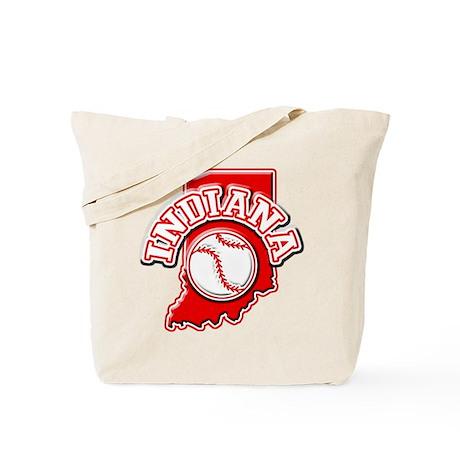 Indiana Baseball Tote Bag