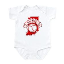 Indiana Baseball Infant Bodysuit