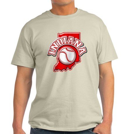 Indiana Baseball Light T-Shirt