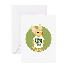 HUMP DAY Chihuahua Greeting Card