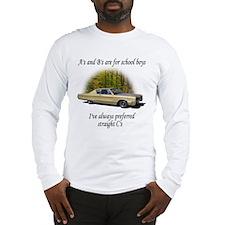 "Straight ""C"" -003 Long Sleeve T-Shirt"