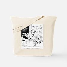Teachers w/ Chalk Allergie Tote Bag
