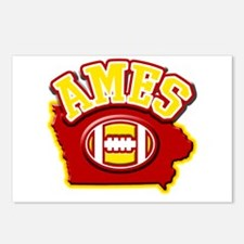 Ames Football Postcards (Package of 8)