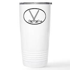 Hockey Ceramic Travel Mug