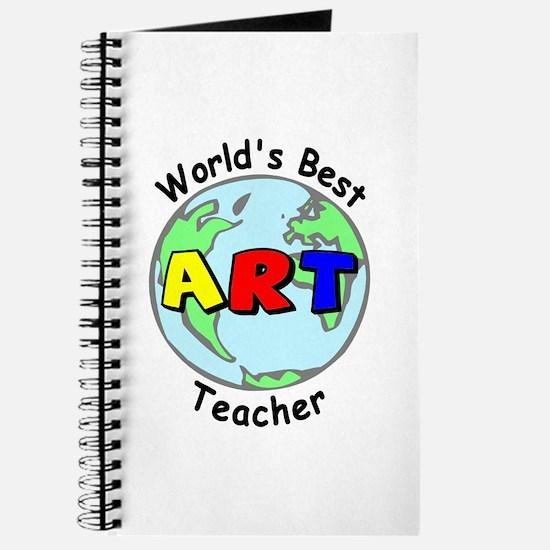 World's Best Art Teacher Journal