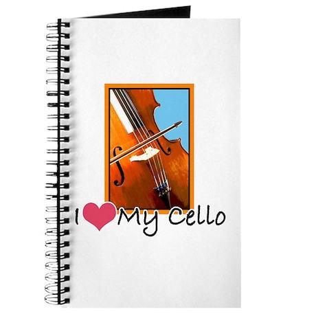 I Heart My Cello Journal