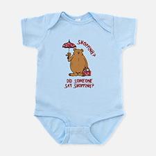Shopping?! Infant Bodysuit