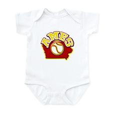 Ames Baseball Infant Bodysuit