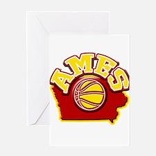 Ames Basketball Greeting Card