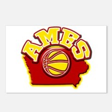 Ames Basketball Postcards (Package of 8)