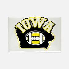 Iowa Football Rectangle Magnet