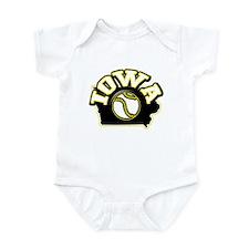 Iowa Baseball Infant Bodysuit