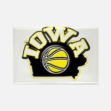 Iowa Basketball Rectangle Magnet