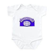 Manhattan Football Infant Bodysuit