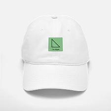 I am Right (Triangle) Baseball Baseball Cap