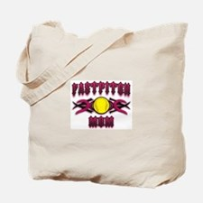 Fastpitch Tribal Pink Tote Bag