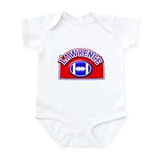 Lawrence Football Infant Bodysuit